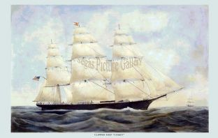 Clipper Ship - the Comet